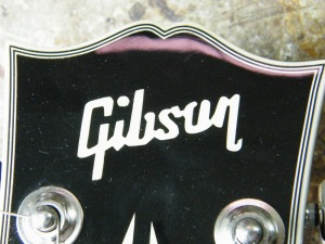 Fake Gibson headstock & logo